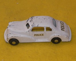 LONDONTOY #54M Wind Up Police Cruiser With Key 1940`s Antique  - $140.00