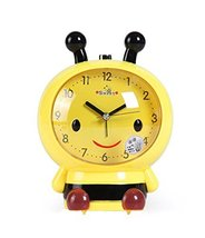 Koala Superstore Children Creative Cartoon Bee Alarm Clock Student Wake Up Clock - $23.66