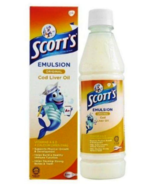 200ml Original SCOTT'S Emulsion Cod Liver Oil Extra Original Flavor NEW ... - $18.90