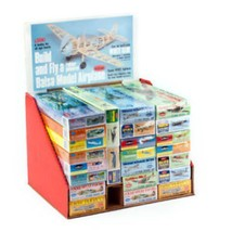 Guillow's 165 Balsa Wood Model Kit Assortment 24 Kits, Wholesale Pricing... - $297.00