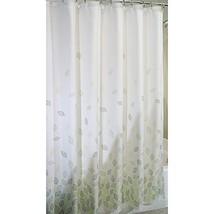 "mDesign Botanical Fabric Shower Curtain - 72"" x 72"", Verde Green - $15.75"