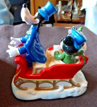 "Schmidt Collectors Gallery Disney 1988 annual Figurine ""Warm Winter Ride"" - $18.00"