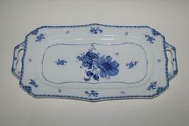 "Utsuwakan Blue Europe 14"" Sandwich Tray  #2411 - $48.00"