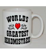 World's Greatest Headmistress Mug Can Personalise Great School Head Prin... - $9.23