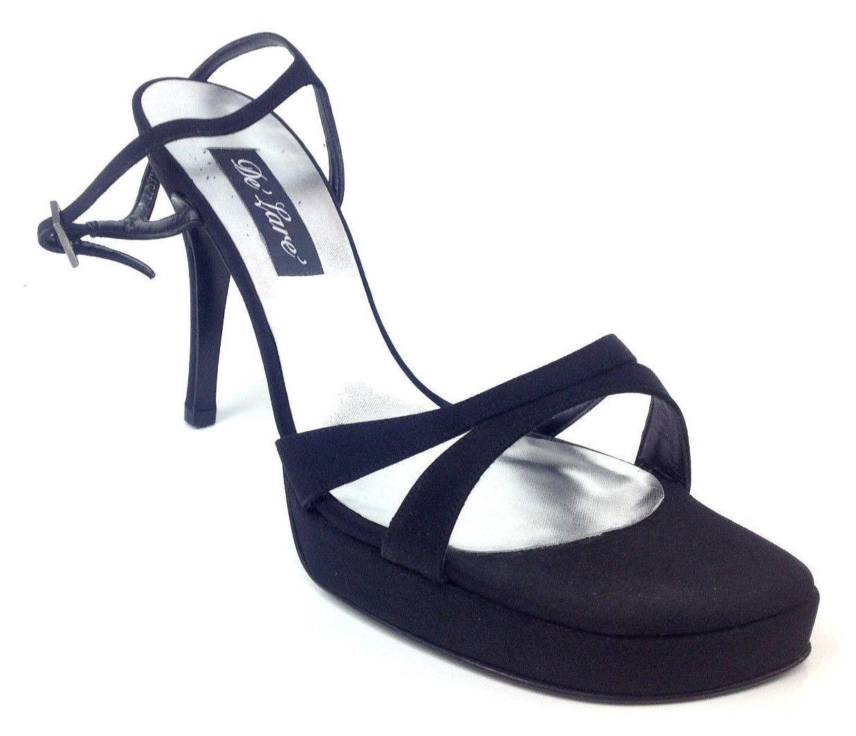"Stuart Weitzman Womens Heels ""GloCarolina"" Color Black  US Womens Size 10 W"