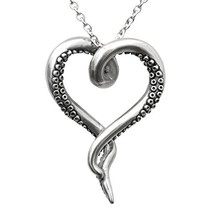 Controse Women's Silver-Toned Stainless Steel Sea Lover Octopus Necklace... - $26.57