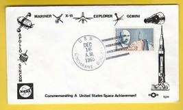 GEMINI GTA-6 NAVY RECOVERY FORCE USS COCHRANE DECEMBER 16 1965 PACIFIC H... - $2.98