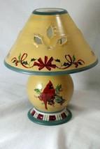 Lenox Winter Greetings Red Cardinal Tea Lamp - $29.79