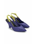 NEW IN BOX Melissa x Opening Ceremony Punto Slingback Wedge Heel Sandal ... - $78.21
