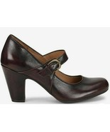 Sofft Miranda Mary Jane Strap Heels Brown Size 9.5 New Without Box  - $46.46