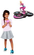 RC Barbie Star Light Hoverboard Flying Adventur... - $29.98