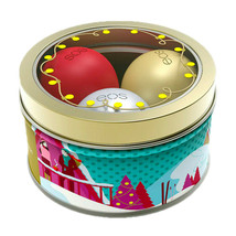 eos 2018 Holiday Lip Balm Set First Snow, Fireside Chai & Pomegranate Ra... - $14.15
