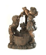 Bronze Look Children Fun And Play Water Garden Fountain - $148.00