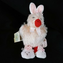 Hallmark Plush Bunnies by the Bay Easter Emmie Hop Duck Rabbit 2002 - $59.37