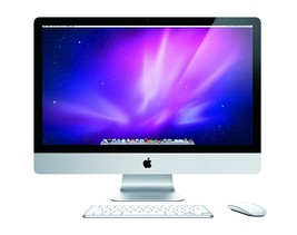 27 inch Apple iMac MC510LL/A Intel Core i3-550 X2 3.2GHz 4GB 1TB DVD+/-RW - $536.13