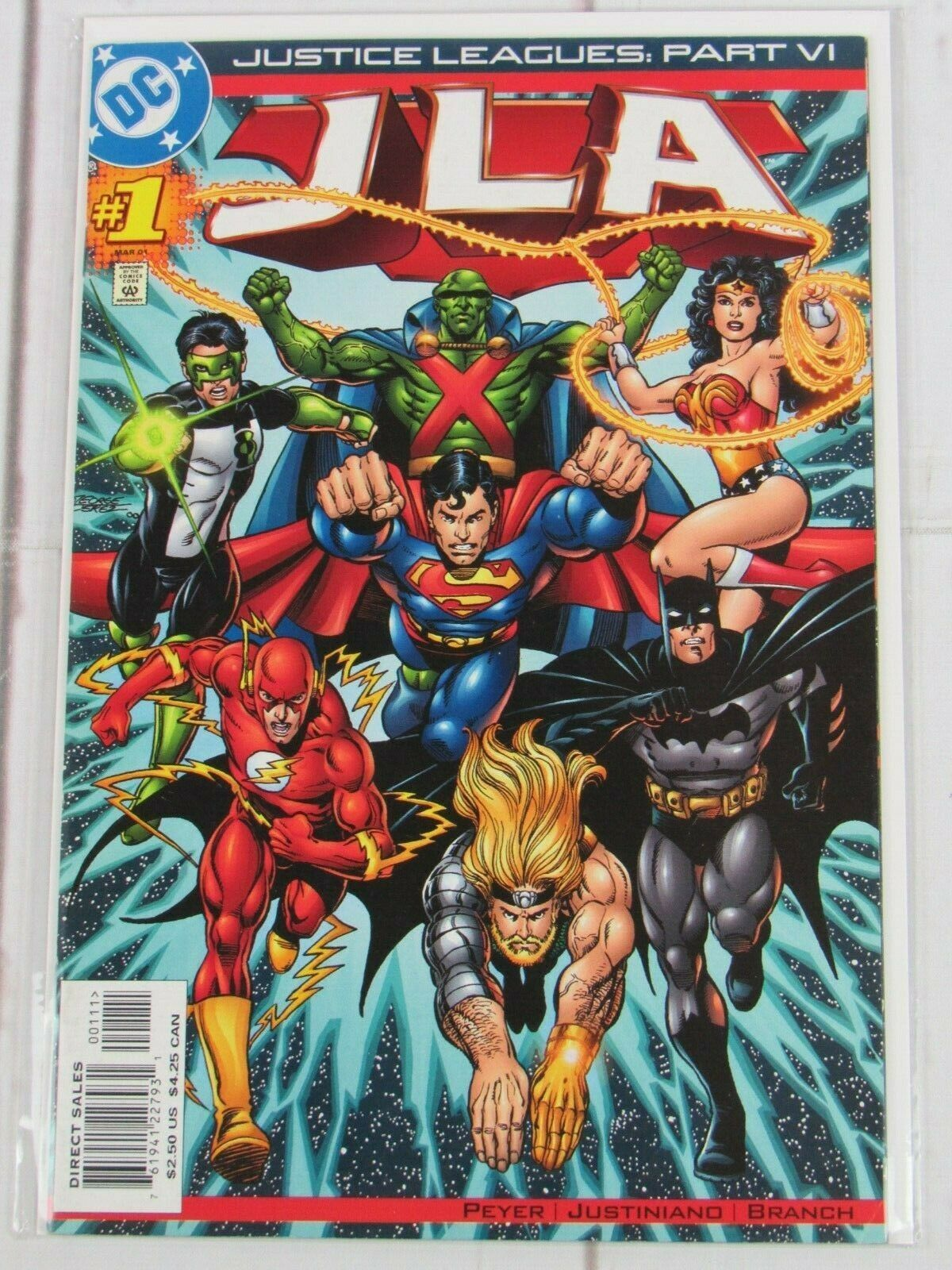 Justice Leagues JLA #1 2001 DC Comics - C4954