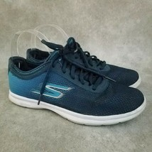 Skechers Womens Performance Go Step 14346 Size 8 Blue  Athletic Sneakers - $24.99