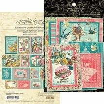 Graphic 45 - Ephemera Queen Ephemera and Journaling Cards - $5.63