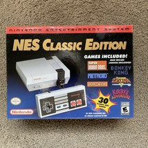 Authentic Nintendo Classic Edition NES Mini Game Console USA Brand New in stock - $148.50