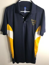 NCAA West Virginia Men's  mountaineers Mens polo golf shirt breathable s... - $14.80
