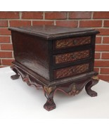 19th Century Antique Straits Chinese Primitive 3 Drawer Chest  - $142.41