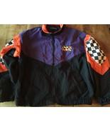 Arctic Cat Racing Jacket L rare 1980's VTG swingster sno-cross snowmobil... - $26.59