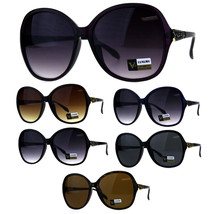 Womens Jewel Bling Hinge Butterfly Oversize Plastic Sunglasses - $12.95