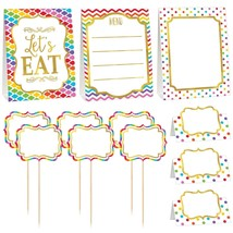 Rainbow Buffet Table Decorating Kit - 12 Pieces - Free Shipping - €9,66 EUR