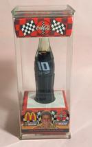 """Coke Coca-Cola McDonald's Mini Miniature 3.5"""" Soda Bottle Ricky Rudd #10 1999"""
