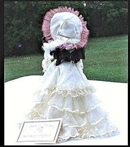 Doll Porcelain 22″ with Certificate of Authenticity AB 51 Vintage image 4