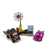 LEGO Cars Mater's Spy Zone 8424 -Holly Shiftwell & Mater Missing 3 Stick... - $14.69