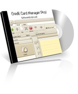 Credit Card Manager Pro [CD-ROM] Windows - $12.97