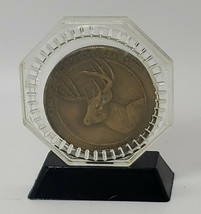 Field & Stream token White Tailed Deer medallion Classic Collectors Seri... - $12.38