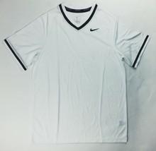 Nike Stock Vapor Select V-Neck Baseball Jersey Men's Large White Black B... - $32.66