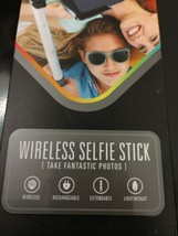 Polaroid Wireless Bluetooth Selfie Stick Black NWT - $5.89