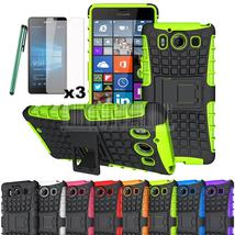 Heavy Duty Protective Hybrid TPU+PC Shockproof Armor Hard Case Cover Sta... - $10.11+
