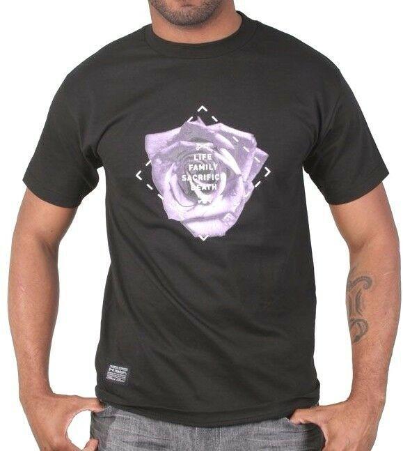 Bloodbath Ras Bldbth Rosette Tee Noir Vie Famille Sacrifice Mort T-Shirt