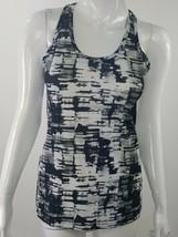 Impact Jillian Michaels Women Small Gray Black White Abstract Athletic T... - $11.29
