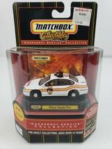 2000 Matchbox Emergency Service Chevy Impala Fire KB Toys Exclusive 92396 - $39.99