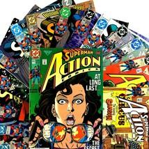 Action Comics 15 Comic Lot Run DC 662-676 Superman Supergirl Flash Brainiac - $39.55