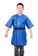 Lead Apron Full Overlap Short Sleeve Lead Shield Radiation Apron XRay Pr... - $173.74