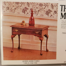 House Of Miniatures Queen Anne Table, New Old Stock Model 40038 - $8.80