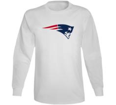 Nfl Patriots Logo Design Long Sleeve T Shirt - $21.99+