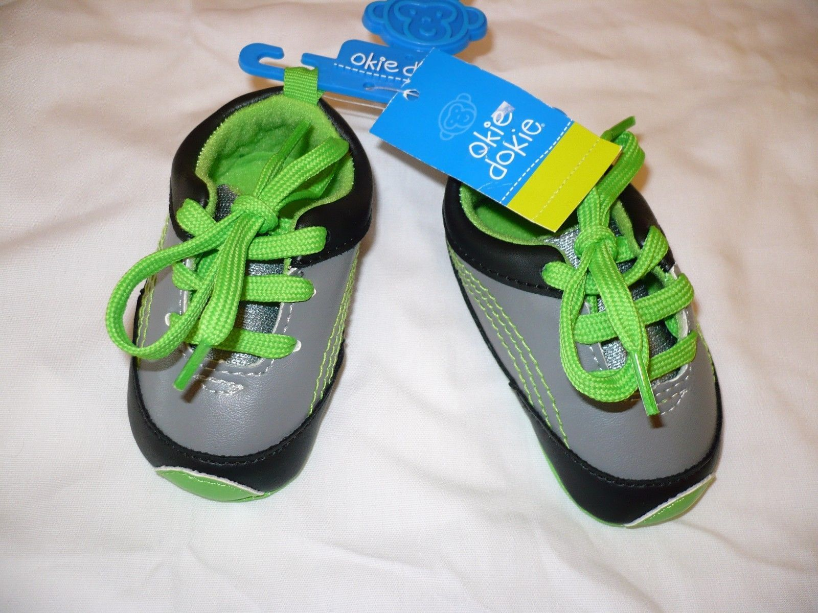 Boys Okie Dokie Slip Lace Up Shoes Baby and 32 similar items