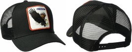 Goorin Bros. Men's Black Eagle Animal Farm Snap Back Trucker Hat - $42.61