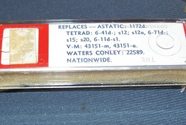 RECORD PLAYER PHONOGRAPH CARTRIDGE Astatic 1238d for Waters Conley 22589 image 2