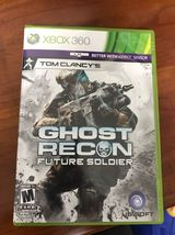Tom Clancy's Ghost Recon: Future Soldier (Xbox 360) Video Game Complete - $13.88