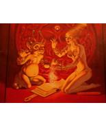 Marion Zimmer Bradley's FANTASY George Barr 1989 Pro Fanzine GreatArt & ... - $24.95
