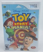 TOY STORY MANIA! Nintendo Wii Tested, Working w Case & Manual 2009 FREE ... - $14.95