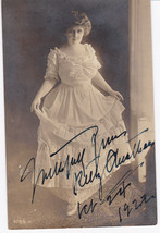 KITTY CHEATHAM - 1922 SIGNED REAL PHOTO POSTCARD - American Singer & Act... - $24.75